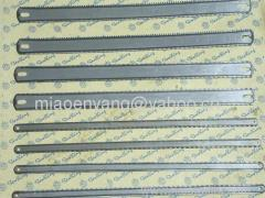 flexible double edge teeth hacksaw blade
