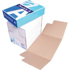 DOUBLE A 80GSM CLEVER BOX COPY PAPER A4