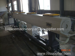 Plastic pipe manufacture machine