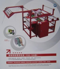 HEAT SUBLIMATION RIBBON MACHINE