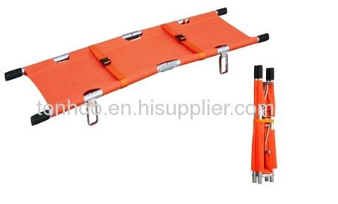 Double folding stretchers