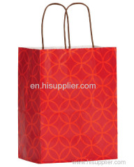 Colorful paper gift bags shopping bags