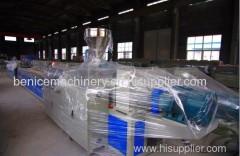 Plastic PVC PC ABS Small Profiles Production Line