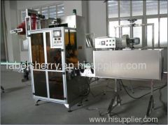 Automatic sleeve labeling machine for bottles of packaging machine