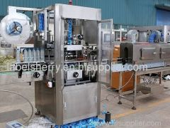 Automatic Shrink Sleeve Labeling Machine for bottles of packaging machine