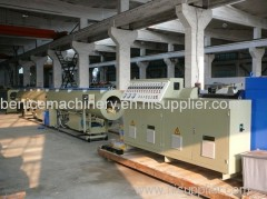 Pipes extrusion machine for pe