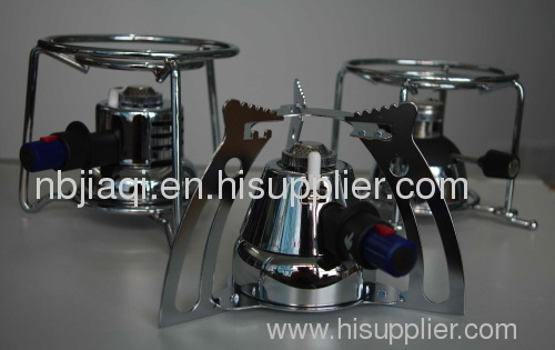 butane coffee burner with holder