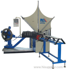 pipe forming machine;spiral tube maker