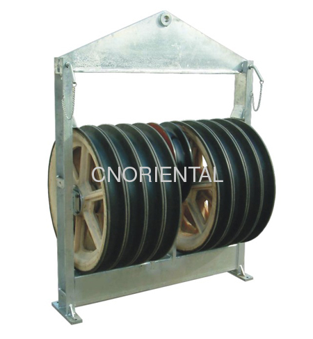 Large Diameter Sheave Tension Stringing Running Out Pulley