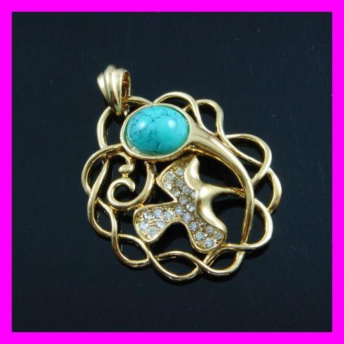 Women 18K gold plated fashion pendant