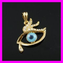 evil eye 18K gold plated pendant FJ 1640040