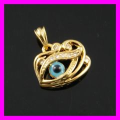 Fallon evil eye 18K gold plating pendant