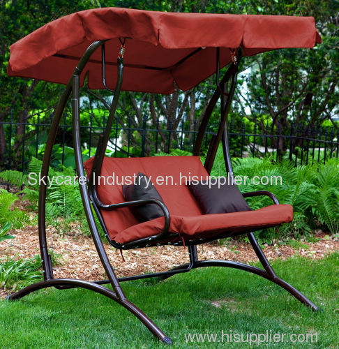 2 Person Patio Swing Chair Outdoor