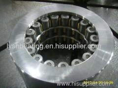 Backing bearings for cluster mills
