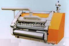 fingerless single facer corrugated board machine