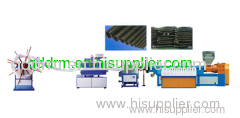PE carbon pipe production line/PE pipe extrusion machine