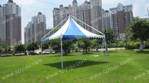 aluminum frame garden gazebo tent 6x6m