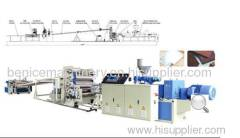 Production Line of PVC Free Foaming Plate Thick Plate