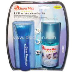 High quality alcohol free LCD Screen cleaner 3 in 1