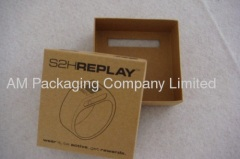 kraft paper box packaging for electronics