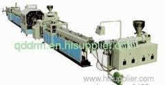 PVC fibre soft pipe production line/hose extrusion machine