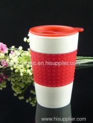 Porcelain travel mug