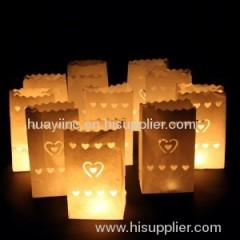 Paper Candle Bags/Candle Bag