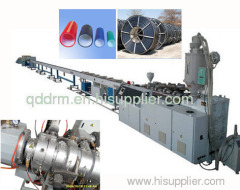 PE composite pipe extrusion line/PE pipe production machine