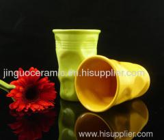 Ceramic coffee cup-I'm mot a plastic cup