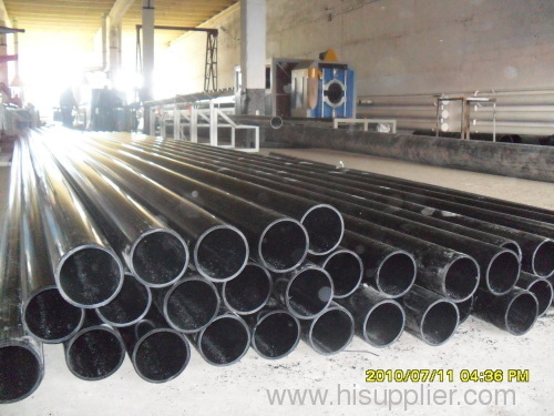 PE pipe extrusion production line