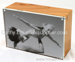 ACRYLIC PHOTO FRAME &STORAGE BOX