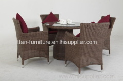 outdoor round rattan furniture