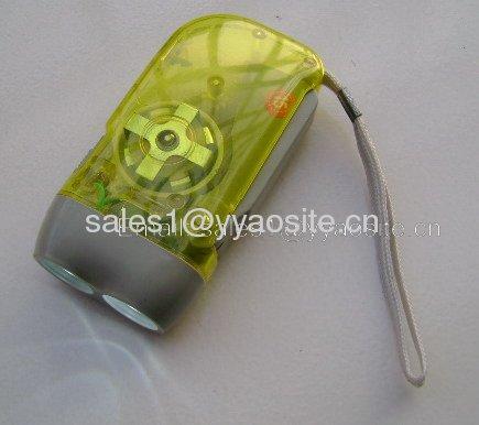 dynamo rechargeable flashlight