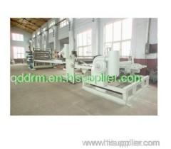 PP sheet extrusion line/PE plastic sheet production line
