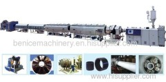 HDPE large diameter water supply pipe production line