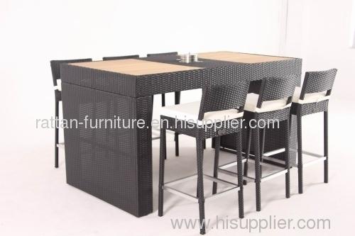 hotel furniture wicker bar sets