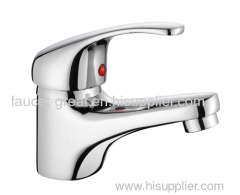 Economic wash basin mixer
