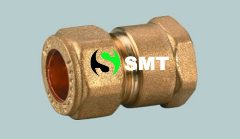 Brass Pneumatic straight fitting