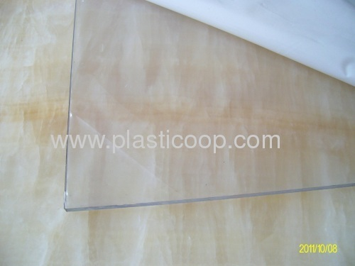 CLEAR and colored GPPS sheet panel plate board