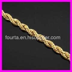 18k gold plated womens bracelet