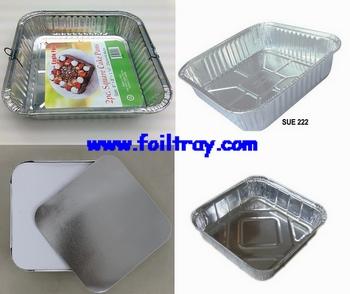 Foil Square Cake Pan;Aluminum Foil Roll;Aluminum Foil Paper;