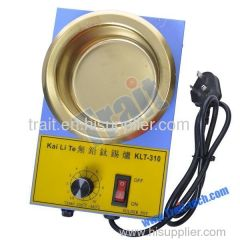 300 W Lead-Free Titanium Tin Stove temperature control-blue + gold (220 V)