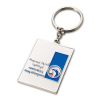 Zinc-alloy Metal Keychain, Suitable for Promotional Purposes, Customized Designs Welcomed