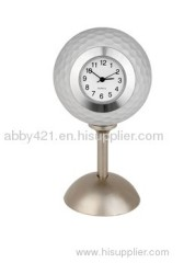 Golf Mini Table Clock