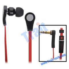 High Resolution In Ear Headphones for Apple iPad/iPad 2 (Black)