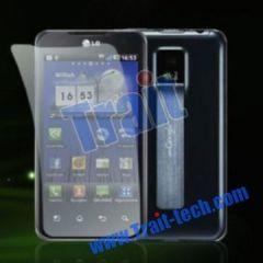 LCD Display Screen Protector Film for LG P990 Optimus 2X