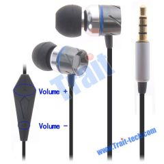New In-Ear Earbud Headphones for iPhone/iPad with Remote and Mic