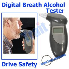 Digital Breath Alcohol Tester With LED Backlight