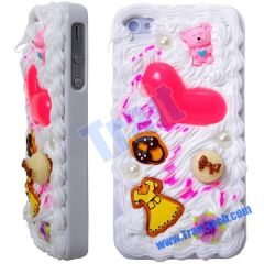 For iPhone 4 3D Cake Brand New Hard Case Cover