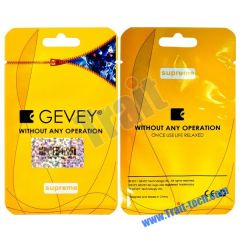 Supreme GEVEY Unlock Sim Card for iPhone 4 (Yellow)